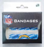 Los Angeles Chargers Waterproof Plasters, 40 per box